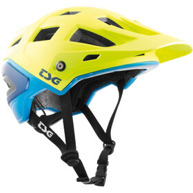TSG Scope Graphic Design Helmet acid yellow-blue